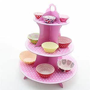 Infinxt 3-Tier Cupcake Stand Display Stand