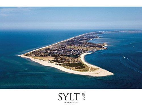 Sylt 2018 - Bildkalender XXL (64 x 48) - Nordsee - Landschaftskalender - Naturkalender - Fan-ellenbogen