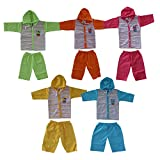 #3: VINAB Cotton Baby Boy's And Girl's Clothing Set (TN585Pcs_6 to 12 Months) - Pack of 5