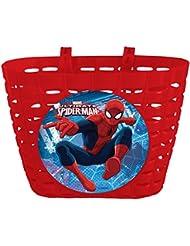Cesta Delantera Spiderman Infantil Niño Niña a Manillar de Bicicleta 35683 6212