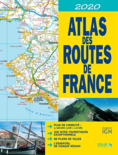 ATLAS DES ROUTES DE FRANCE 2020 par COLLECTIF