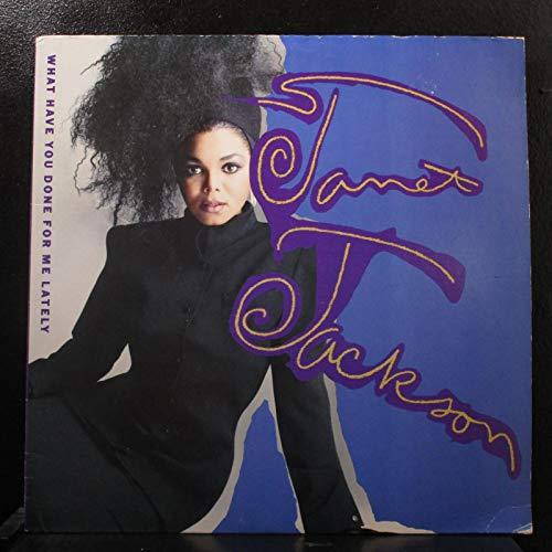 incl. Nasty [LP] (Vinyl Record Schallplatte Janet Jackson, 9 Tracks)