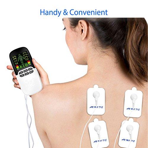 Electroestimulador Muscular, iFanze Electroestimulador TENS, Reduce ...