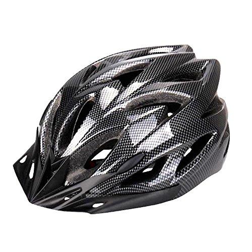 Six Foxes Fahrradhelm, Unisex Erwachsenen Leichtgewicht Schutzhelm Fahrrad Helm mit 18 Belüftungsöffnungen, abnehmbare Visier und Einstellbares Radsystem Fur Herren Damen