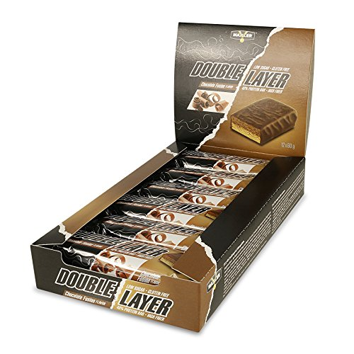 Maxler Double Layer - Chocolate Fusion 12x60g (Double-layer-natürliche)