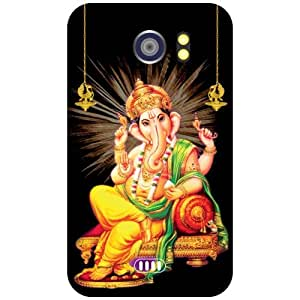 Micromax Canvas 2 A110 - Ganesh Matte Finish Phone Cover