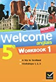 Anglais 5e Palier 1 Niveaux A1/A2 Welcome : Pack 2 volumes : Workbook 1 & 2