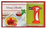 Crème Brûlée-Set: Knusprig zarte Verführung. Buch und Gasbrenner