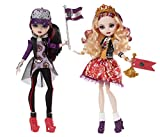 Ever After High Toy - School Spirit Apple White and Raven Queen Deluxe Fashion Doll 2 Pack by Ever After High
