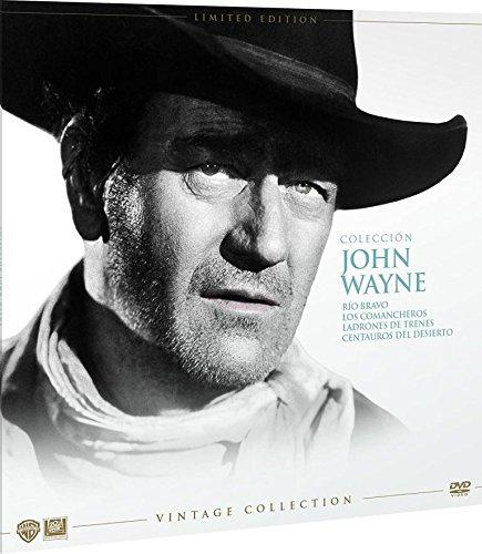 John Wayne Colección Vintage Funda Vinilo 4 Peliculas