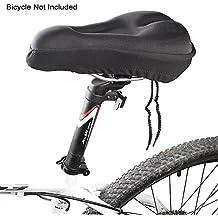 ma-on para bicicleta asiento sillín de Gel, Suave Funda De Asiento Cojín montar accesorios (negro)