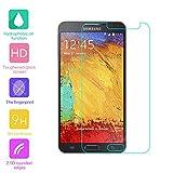 fenrad Esclusivo Alta Qualità in Vetro Temperato Pellicola protettiva schermo di protezione per Samsung Galaxy Note 3 Neo / N7505/N7508V/N7502/N7506V(Il panno in microfibra incluso)