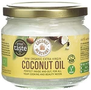 Huile de noix de coco - 300 ml Huile de noix de coco biologique extra vierge et non raffinée