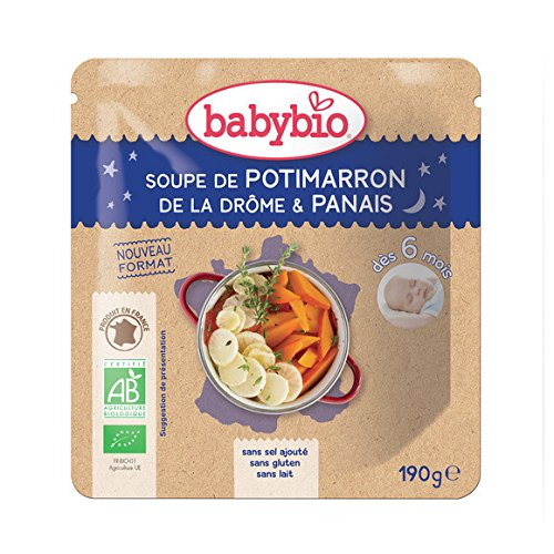 babybio Soupe potimarron panais ( Prix unitaire ) - Envoi Rapide Et Soignée