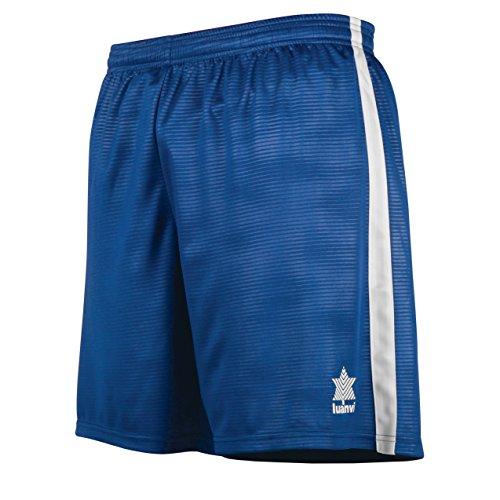 Luanvi Camu Pantalones Cortos, Hombre, Azul Royal, S