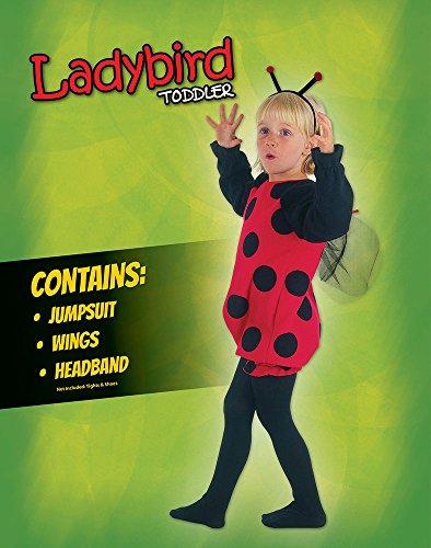 Imagen de disfraz infantil de mariquita. 3 años alternativa