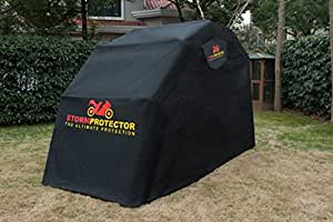 StormProtector® Motorbike Motorcycle Scooter Mobility Waterproof Bike Cover Shelter Garage A