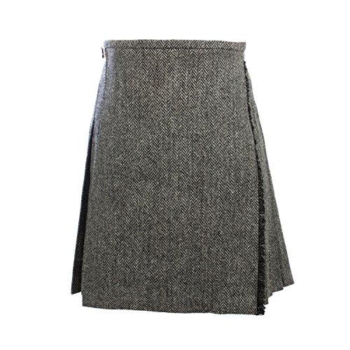 Harris Tweed Damen Rock Gr. 40, grau