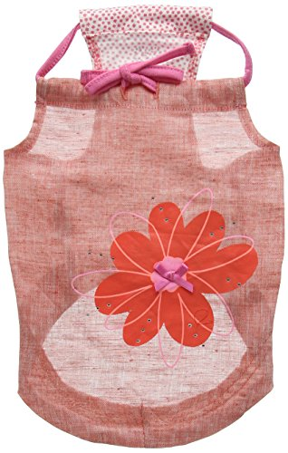 Puppia Aster Apparel, Large, Pink