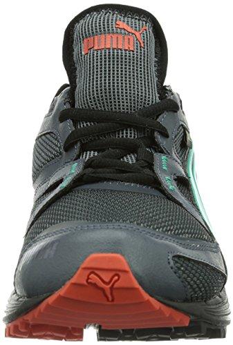 Puma Pumafox v2 GTX®, Scarpe da jogging Uomo Grigio (Grau (turbulence-pool green 02))