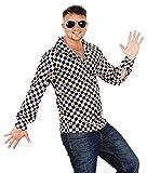 Foxxeo 40198 | cooles 70er 80er Jahre Hippie Hemd für Erwachsene Karneval Fasching Party Gr. S - XXL, Größe:XXL