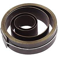 Avviamento a molla in metallo, lunghezza 19 cm, larghezza punta per panca, colore: grigio