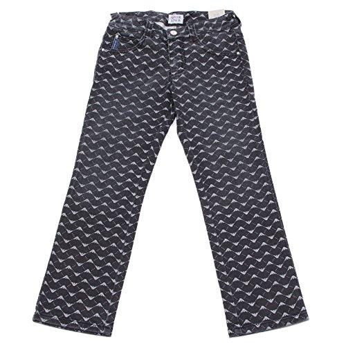 9652U Jeans Bimba Armani Junior Grigio Denim Pant Trouser Kid Emporio Armani