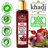 Best Black Seed Oils - KHADI GLOBAL RED ONION HAIR GROWTH OIL WITH Review