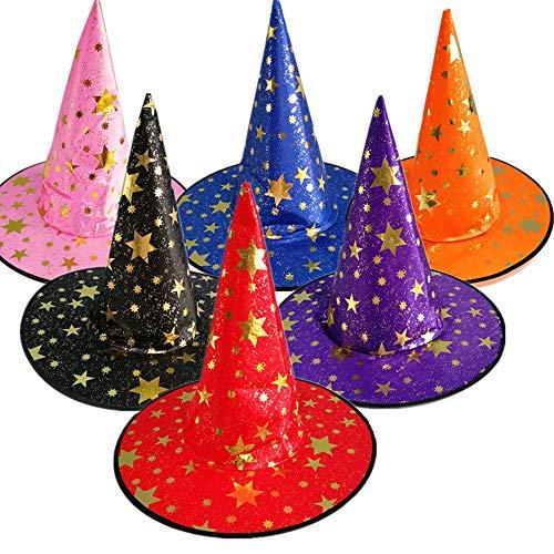 In Voller Länge Erwachsenen Cape (wlgreatsp Halloween Cape Unisex in voller Länge Hut oder Coak Cosplay Kostüm für Erwachsene, Farbe blau/orange/lila/schwarz)