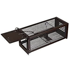 ratzfatz lebendfalle mausefalle k der rattenfalle gro xxl profi garten haus tierfalle. Black Bedroom Furniture Sets. Home Design Ideas