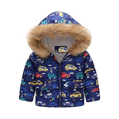 Hawkimin_Babybekleidung Baby-Kapuzen Mantel,Hawkimin Baby Mädchen Schmetterling Drucken Baumwollmantel Parka Daunenjacke Snowsuit Winter Oberbekleidung