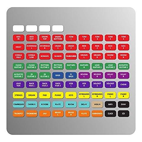 Magnétique Étiquettes pour SOUNDCRAFT Signature/SI (Impact, Performer, Expression) Mixage