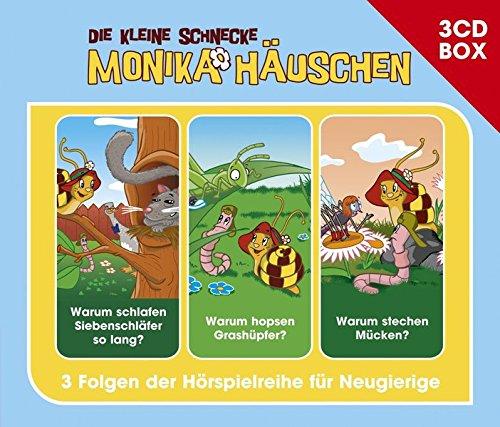 Die kleine Schnecke Monika Häuschen 3-CD Hörspielbox Vol. 4 (Katapulte Geschichte Die Der)