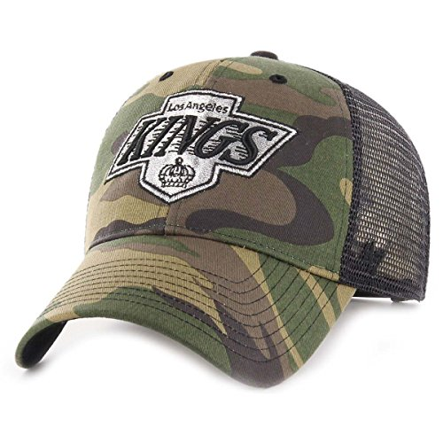 47 Brand Snapback Cap - Branson Los Angeles Kings Camo -