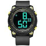 SPORTWATCHES Schöne Uhren, Männer Silikon Outdoor Wasserdichte elektronische Sportuhr