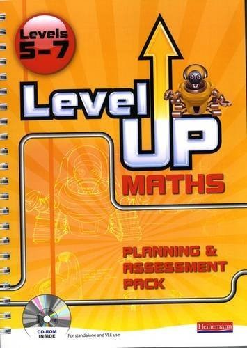 Level Up Maths: Teacher Planning and Assessment Pack (Level 5-7) by unknown (2008) Spiral-bound