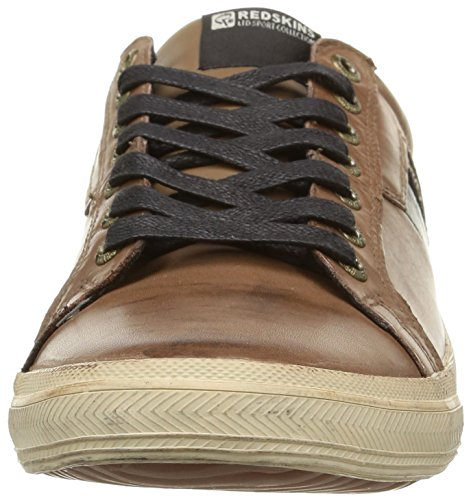 Redskins Arfa, Baskets Basses Homme Marron (Antilope/Noir)