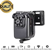 Mini Camera Spy WIFi R3 Wireless HD Camcorder with IR Night Vision 1080P Sports Small Camera DV Video Recorder by Crazepony-UK