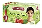 Teekanne Grüner Tee Pfirsich 20 Beutel, 6er Pack (6 x 35 g)