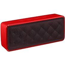 AmazonBasics Portable Bluetooth Speaker (Red)