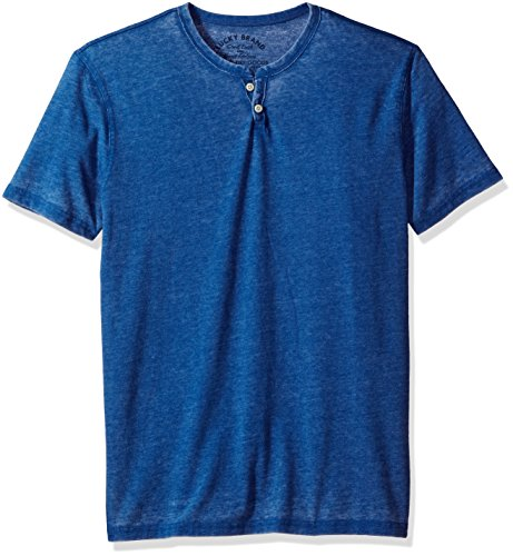 lucky-brand-burnout-notch-t-shirts-s-hommes