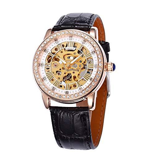 HWCOO Orologi meccanici Shenhua / 9592 orologio meccanico automatico da donna (Color : 3)