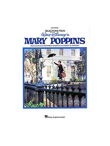 Walt Disney's Mary Poppins (Easy Piano). Partitions pour Piano, Chant et Guitare(Symboles d'Accords)