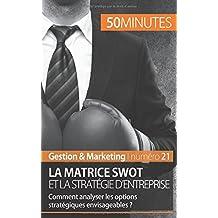 La matrice Swot et la stratégie d'entreprise: Comment analyser les options stratégiques envisageables ?
