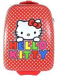 Hello Kitty lunares ABS Maletas con ruedas