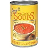Amy's - sopa de tomate grueso sopa orgánica - 14,5 oz.