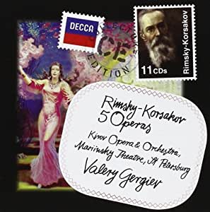 Rimsky-Korsakov: 5 Operas by Decca (2011-04-19)