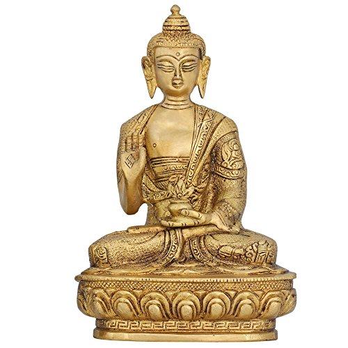 Buddha seduto Statua da collezione e figurine religiosi Regali India