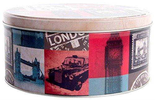 AVENUELAFAYETTE Boîte métal ronde Vintage London