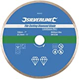 Silverline 993035 Disque diamant carrelage 180 x 22.2 mm